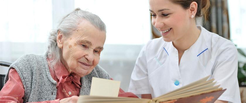 Persoonlijke ouderen zorg